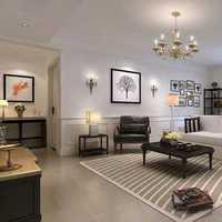 简约别墅客厅休闲沙发装修效果图