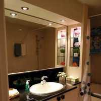 浅绿色现代二居室卫生间装修效果图