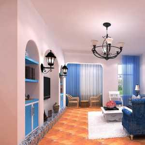 海之蓝 地中海风格的温馨客厅