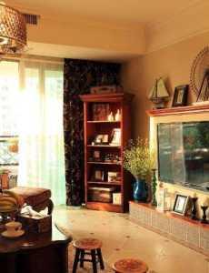 102平米美式风情二居室