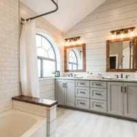 新古典白色简洁别墅装修效果图