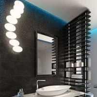 现代面盆卫生间卫浴洁具装修效果图