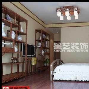 纯中式大气卧室效果图