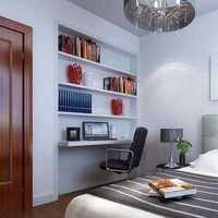 现代中式小卧室装修效果图