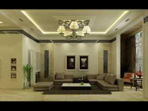 唯美白色 大气中式客厅