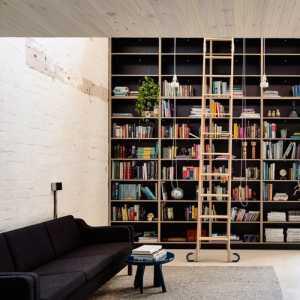 客厅书房一体装修效果图大全