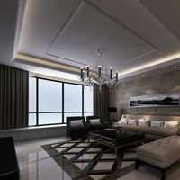 欧式豪华客厅四居装修效果图