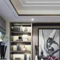 美式风格70平米小户型客厅效果图
