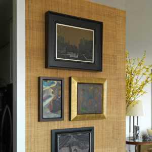 簡約風格溫馨原木色90平米設計圖紙效果圖