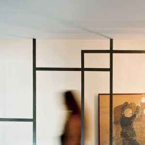 90-120平米现代简约公寓客厅楼梯