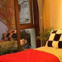 卧室碎花壁纸背景墙效果效果图