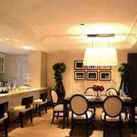 餐厅蓝色三居室餐桌装修效果图