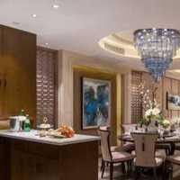 橱柜餐厅别墅美式装修效果图