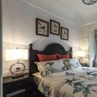 欧式卧室跃层卧室背景墙装修效果图