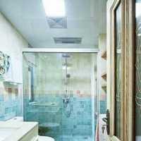 美式卫浴洁具大户型卫生间装修效果图