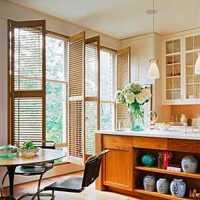 餐厅美式家具实木餐桌美式装修效果图