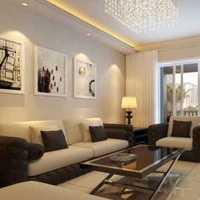 现代客厅吊顶大户型客厅装修效果图