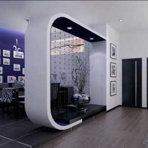 白色系大气时尚的客厅装修