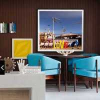 家庭餐厅墙壁现代装修效果图