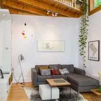 80平米两室一厅装修效果图带入户花园