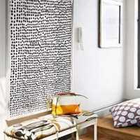 窗帘现代书房家具简约欧式装修效果图