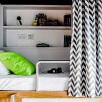 简约地毯书柜卧室装修效果图