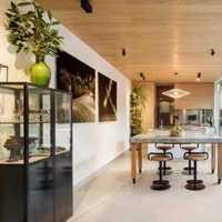 茶几沙发现代客厅交换空间装修效果图