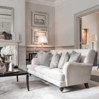 沙发背景墙茶几吊灯客厅装修效果图