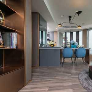 高端白领二居室两室一厅70-90平米现代简约公寓30万-50万客厅餐厅浪漫梦想改造家