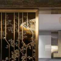 休闲中式餐厅装修效果图