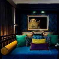 现代客厅客厅家具客厅茶几装修效果图