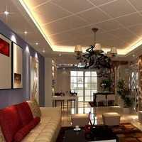 100平米独栋两层别墅装修效果图
