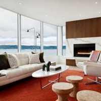 美式田园客厅沙发茶几客厅装修效果图