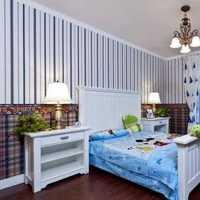 现代撞色系卧室墙面墙纸装修效果图