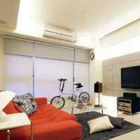 现代小三居美式客厅装修效果图