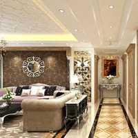 客厅三居美式客厅家具装修效果图