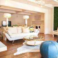 新房单人沙发茶几客厅装修效果图