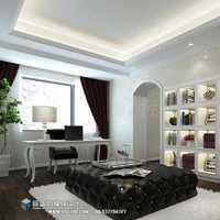 90平米三室一厅美式装修效果图
