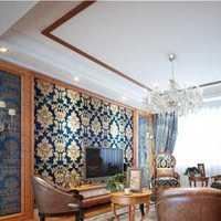 时尚客厅黑色沙发装修效果图