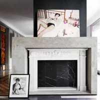 沙发背景墙背景墙中式装修效果图