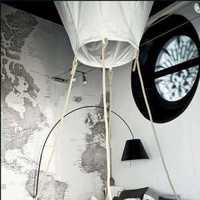 卧室简欧台灯吊灯装修效果图