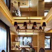 簡約風格公寓經濟型80平米書房燈具效果圖