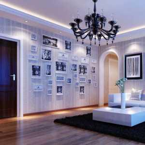 美式风格三居室效果图纸