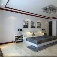 卧室白色美式别墅装修效果图