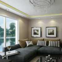 混搭110平米沙发背景墙装修效果图