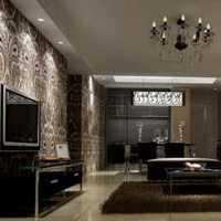 美式乡村沙发三居室客厅装修效果图