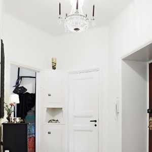 美式客厅软包背景墙装修效果图
