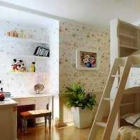 简约阁楼儿童房墙面装修效果图