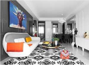蓝色的壁纸卧室装修效果图