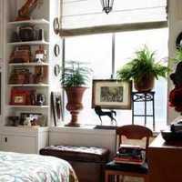 原木卧室家具装修效果图